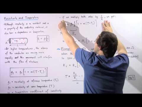 Resistivity and Temperature Dependance