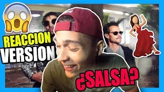 Maluma - Felices los 4 (Salsa Version)[Official Video] ft. Marc Anthony (REACCION)