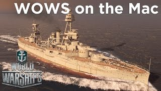 Running World of Warships on a Mac