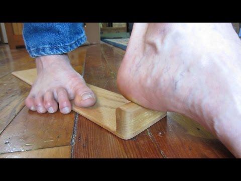 Heel Pain Plantar Fasciitis Massage Tool!