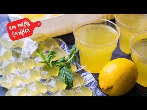 Ev Yapımı Konsantre Limonata Nasıl Yapılır? Kolay ve Nefis Limonata Tarifi (İçecek Tarifleri)