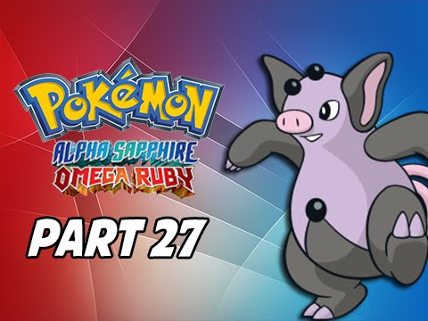 Pokemon Omega Ruby & Alpha Sapphire Walkthrough Part 27 - Grumpig (3DS Commentary)