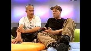 Black Tiger & MC Rony - SF2 Oops TV Interview in Year 2000