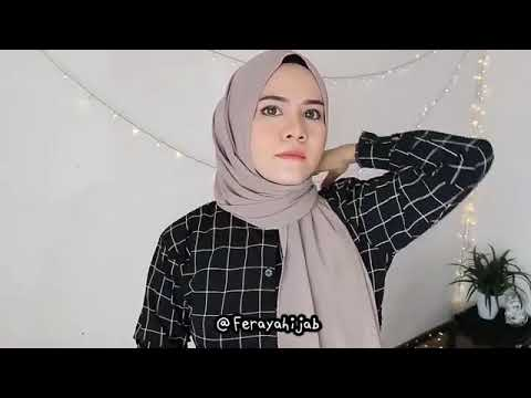 Tutorial Hijab Simple Pashmina Ceruty Babydoll Youtube