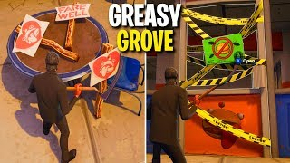Fortnite Greasy Grove Is Getting Destroyed? (Easter Egg)