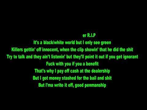 Dreezy   Spar ft  6LACK, Kodak Black(video lyrice)