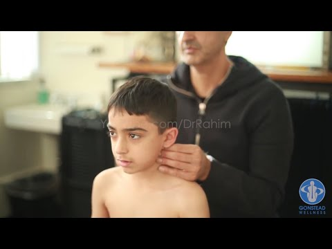 Boy With Anxiety Gets his SUPERPOWERS Back with Dr. Rahim Gonstead Chiropractor