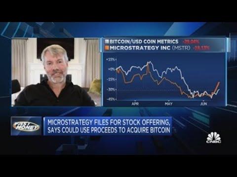 Microstrategy's Michael Saylor on the company's bitcoin future