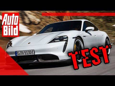 Porsche Taycan (2019): Auto - Test - Fahrbericht - Elektro - Infos