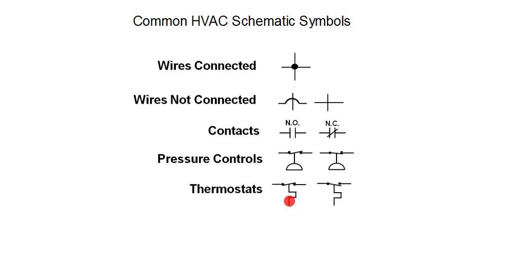 Hvac Training Schematic Symbols Youtube