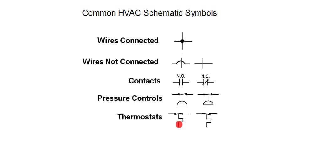 Wiring Diagram Symbols Hvac Garage Door Training Schematic Youtube
