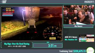 Awesome Games Done Quick 2015 - Part 110 - Big Rigs: Over the Road Racing by Alex Navarro