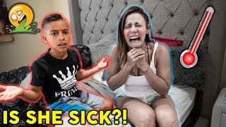 I'm So Sick Prank **SHE TRICKED US** | The Royalty Family