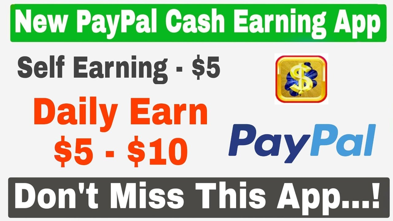 iScratch New PayPal Cash Earning App | Daily $5 to $10