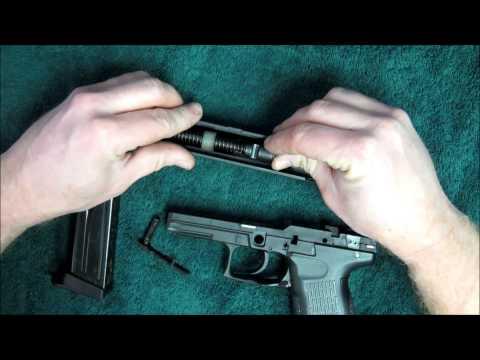 How to take apart HK P2000
