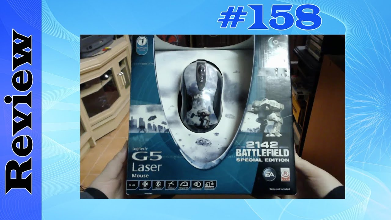 Logitech G5 Laser Mouse - Battlefield 2142 Special Edition (PC ...