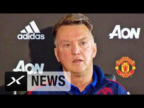Kritik an Wayne Rooney: Louis van Gaal kontert Journalisten | FC Southampton - Manchester United