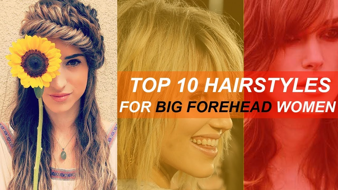 Hairstyle for broad forehead women | Big forehead hairstyle for women -  YouTube
