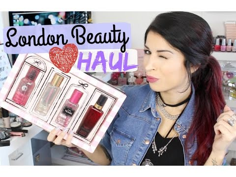 London Beauty Haul: Victoria's Secret, Inglot, Charlotte Tilbury ♡