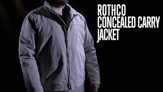 Concealed Carry 3 Season Jacket - Rothco Product Breakdown