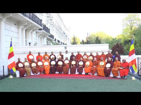 High Commission of Sri Lanka in London - Annual Pirith Chanting Ceremony - 2018