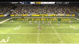Madden 25::XBOX ONE Gameplay::SHOULD EA ALLOW THIS?-Patriots Vs. Steelers-Online Gameplay XboxOne