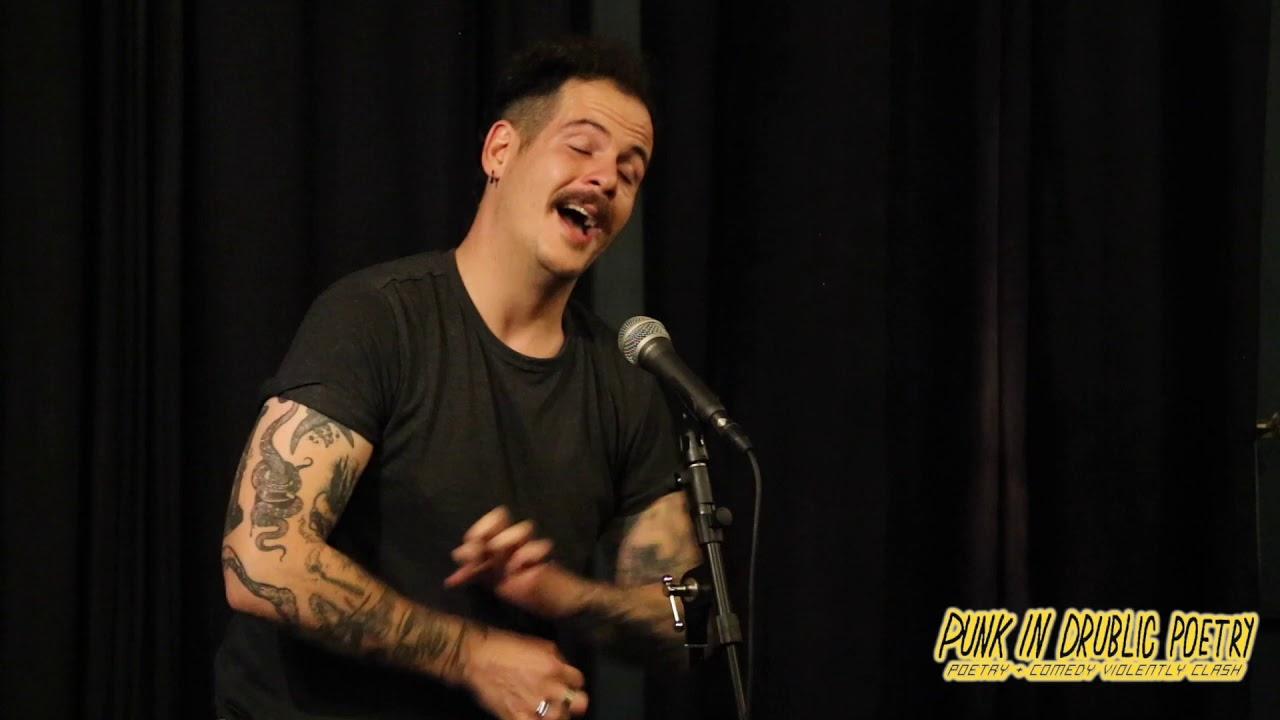 Sam J  Grudgings at Punk in Drublic Poetry