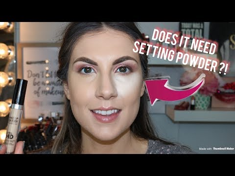 MAKEUP FOREVER ULTRA HD SELF-SETTING CONCEALER | REVIEW