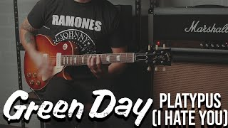 Green Day - Platypus I Hate You (Guitar Cover)