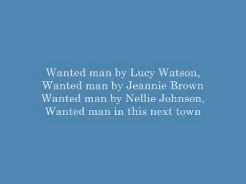 Johnny Cash - Wanted Man (At San Quentin with lyrics)
