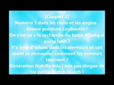 Dj Hamida Feat. GSX - J'Me Sert un Re-vé avec Paroles