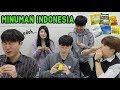 BAGAIMANA JADINYA ORANG KOREA MINUM MINUMAN INSTAN KHAS INDONESIA?