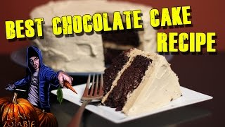 Easy Chocolate Cake Recipe | Cooking With The Vegan Zombie