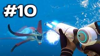 ► Subnautica - Boj s Leviathanom a oprava Aurory | #10 | PC Gameplay | 1080p