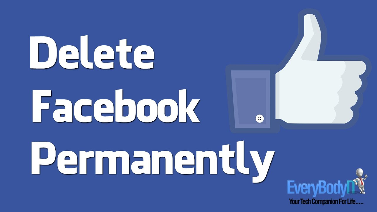 How I Close My Facebook Account Permanently