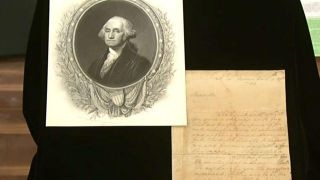 Revealing Washington's request for invisible ink