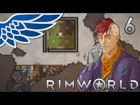 RIMWORLD 1 0 MODDED | Rocket Raiders Part 6 - Rimworld Mod