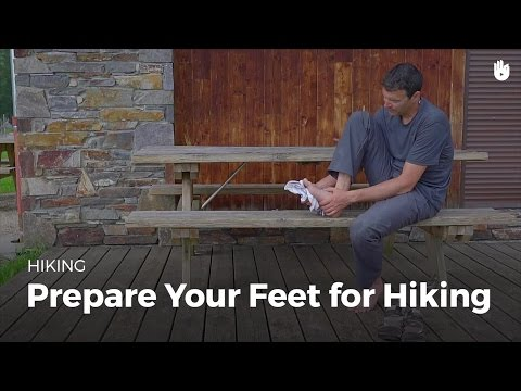 Prepare Your Feet for a Long Walk | Hiking