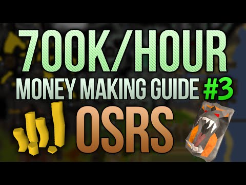 [OSRS] Up to 700k/Hour Money Making Guide (Very Easy/Low Levels)