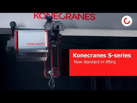 Konecranes S-series – The New Standard In Lifting