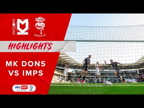 Milton Keynes Lincoln Goals And Highlights