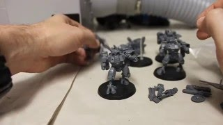 How to magnetize a Tąu crisis suit