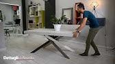 Eclipse Tavolo Rotondo Allungabile.Eclipse Extendable Table By Ozzio Italia Tavolo Allungabile