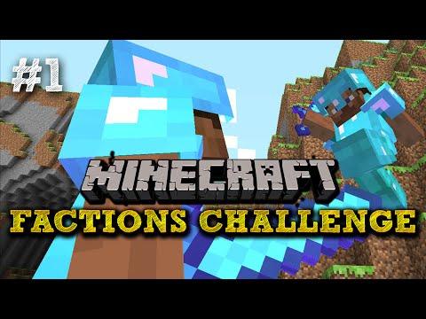 Minecraft FACTIONS CHALLENGE #1 - 'THE WARZONE!' - Vikkstar vs SSundee (Minecraft Faction Battle)