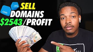 How to start a domain flipping business | $2543 Per Month