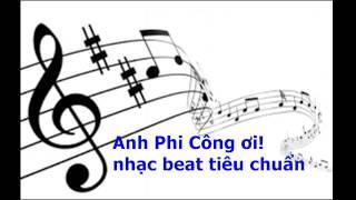 Anh PHI CÔNG ơi (beat thiếu nhi)
