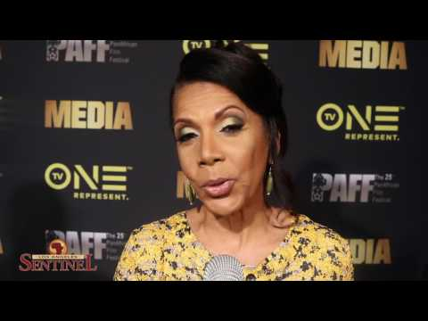 Actress Penny Johnson Jerald At TV One Premiere Of