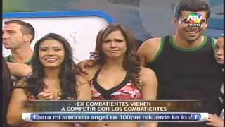 Ex Combatientes vienen a competir 12/04/13