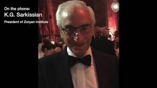 Greg Sarkissian, President of Zoryan Institute radio interview
