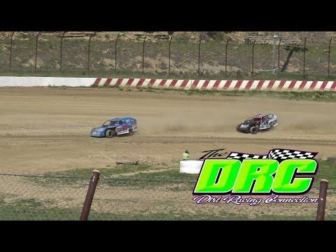 Brushcreek Motorsports Complex | 4.17.16 | Sunday Funday #3 | UMP Modifieds | Heat 1